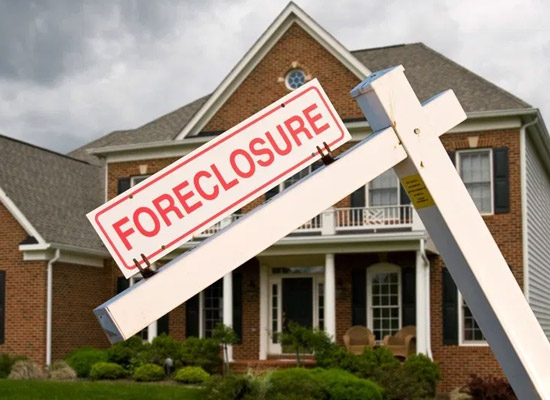 5 steps to a foreclosure